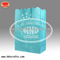 festival Led light candle paper bag