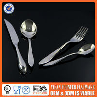 Western style different kinds of flatware