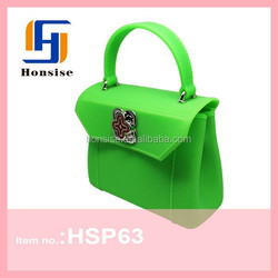 WHOLESALE Ladies Tote Bag Jelly Candy Rubber Silicone Handbag