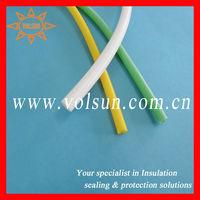 Flexible colored silicone rubber tubing