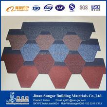 Colorful asphalt roofing shingles sale