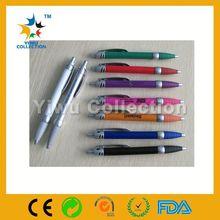 elegant present /gift metal pen, golded clip twist advertising/bank pen
