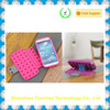 soft silicone rubber phone cover funny DIY block wallet flip case for samsung galaxy s4 S IV i9500