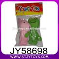 Colorido bonito dos desenhos animados animais fantoche de dedo brinquedo dedo de lã