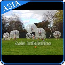 Durable inflatable bumper bubble ball, soccer bubble ball with double sewing
