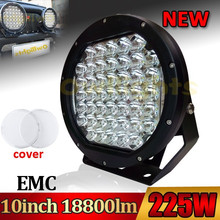 2015 NEW product 225w 10inch car LED Headlight, 9-32v laser lights for cars, extra lights for cars