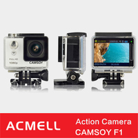 CAMSOY F1 action camera waterproof camera with AV out function