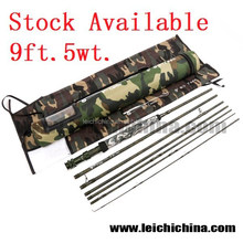 In Stock Without MOQ All Camo Color Camo Fly Fishing Rods
