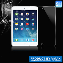 Trade assurance supplier !!9H 2.5D anti-shock privacy tempered glass screen protector for ipad air