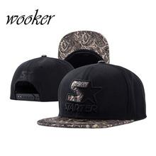 WOOKER Individuality S Satr Snap Back Street Hip-hop Caps Flat Vintage Fashion Baseball Cap Hot Sale CAPXH099