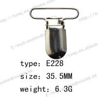 Nickle Free And Lead Free Plastic Metal Suspender Hardware