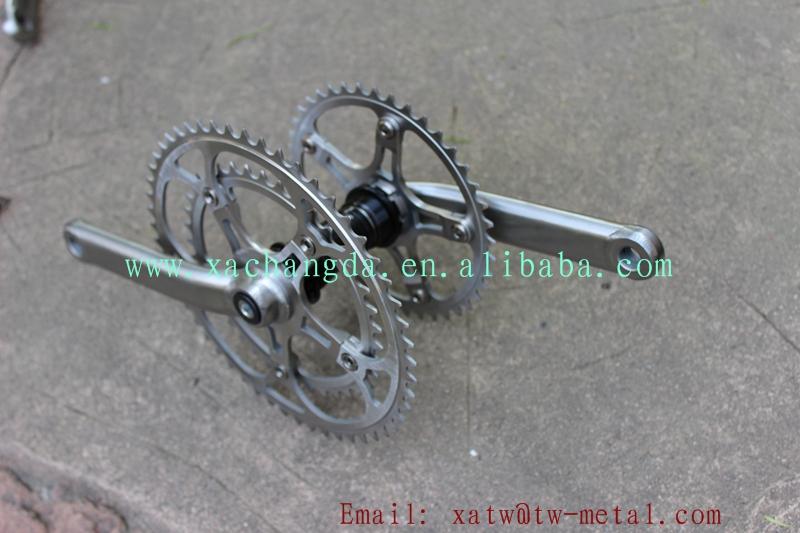 Ti tandem bike frame crankset13.jpg