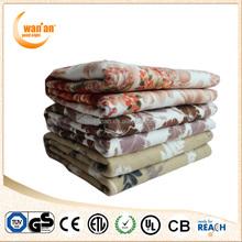 110V Micro Fleece Washable Electric Under Blanket Warm Bed Sheet