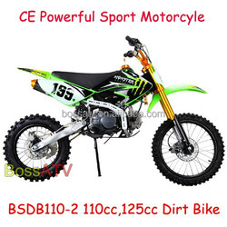 Monster Green 4 Stroke Semi Automatic 110CC 125CC 150CC Dirt Bike