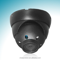High speed high resolution waterproof IR ccd dome cameras