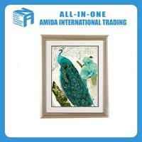 The peacock pattern Setting wall framed paintings,sitting room/sitting room wall paintings