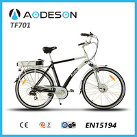 Aodeson TM701 E-bike with 36 volt lithium ion battery for electric bicycle price