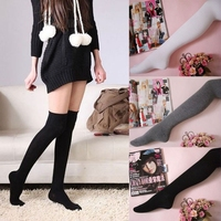 Fashion Lady Girls Over The Knee Thigh High Cotton Sexy Stockings Hot Sale knee socks long socks
