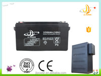 China factory high capacity 12v solar ups battey 12v 65ah sealed lead acid battery 12v 65ah wind power storage battery