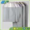 Grey Non-woven mens suit cover with different sizes and PVC window