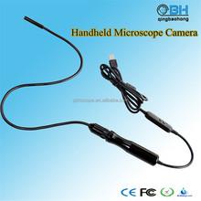 8.5mm Manual Digital Manual Focusing USB Borescope with 200 zoom