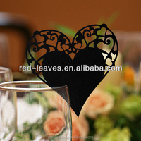 Wholesale new design & high quality Laser Cut Place Card