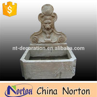antique finish product wall fountain stone finished outdoor fountain NTMF-A064R
