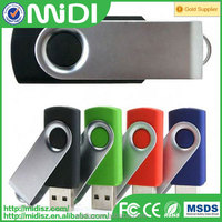 wholesale promotion gift swivel usb flash drive 32GB with printing logo