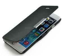 nueva fina carcasa tipo libro con botón imán para Celular Iphone 6 4.7 pulgadas