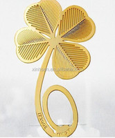 Cute Four-leaf Clover Reading Metal Clip Bookmark Gift Book Mark For Kids