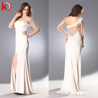 Elegant made to order bridesmaid dresses heavy crystal lace beaded wedding gowns