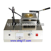 STLR-3 Electric cleveland open cup flash fire point tester for bitumen products