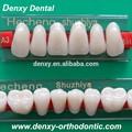 Fornecimento dental composto falsos dentes de acrílico/dental dentes de resina sintética