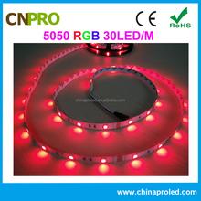 Factory direct sale 5050 flexible non-waterproof rgb led strip light