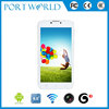 china made 6inch MTK8312 dual core dual camera built in GPS mobile phone