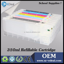 Consumable products 350ml ink tank for Epson 7800 9800 7880 9880 refill ink cartridge