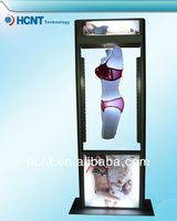 New Invention ! magnetic levitation led display rack for underwear, bra miduo