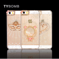 3d bling mobile case for iphone 5/5s/4/4s rhinestone phone case,3d case for iphone