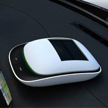 Most Popular Nature Air Cleaner Best Quality solar Car Purifier With Charger Car air purifier car