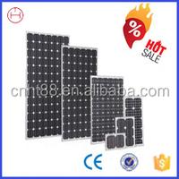 hot dealing goverment supplier 80w monocrystalline solar panel