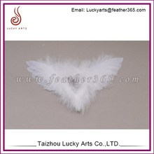 Lucky Arts 2015 new angel wing,feather decoration,feather wing factory