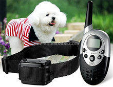 Rechargeable Waterproof 1000m Yard Remote Training Stop Bark Collar With Two Dog Training Collar