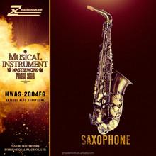 2015 hot sale antique brass saxophone alto MWAS-2004FG