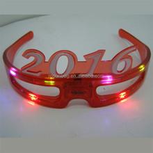 new year led glasses, 2016 led light glasses