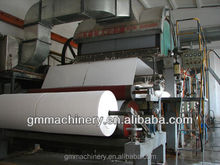 good quality 2400mm multi-cylinder and multi-mesh toilet tissue paper making machine, high production for waste paper recycle