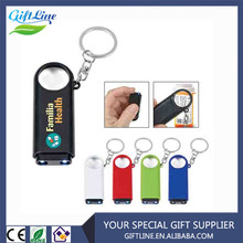 High Quality Magnifier And LED Light Key Chain