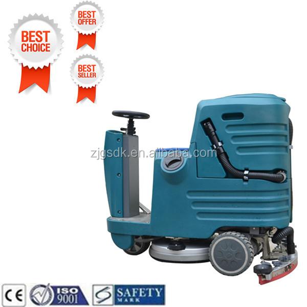 automatic scrubber floor machine