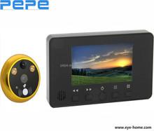 Professional deaf doorbell,peephole camera,yale electronic door viewer