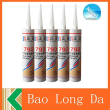 2015 New indonesia high temperature top quality manufacture black rtv silicone sealant