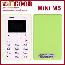 AEKU M5 Mini Card Phone Student Pocket Personality Children Phone very small mobile phone